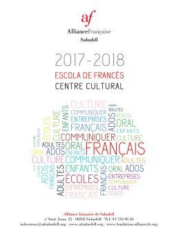 Horaris i preus de cursos, serveis... Informació Alliance Française Sabadell 2017_2018